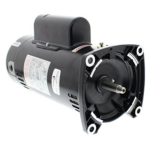 A.O. Smith SQ1152 1-1/2 HP, 1.47 Service Factor, 48Y Frame, Capacitor Start/Capacitor Run, ODP Enclosure, Square Flange Pool Motor