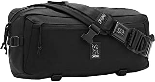 Kadet Nylon Messenger Bag (Black/Aluminum) [並行輸入品]