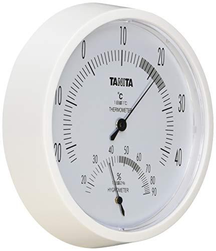 タニタ 温湿度計 温度 湿度 アナログ 壁掛け ホワイト TT-492 WH