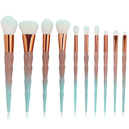 7 10 15 pcs Superbe Fondation Colorée Sourcils Eyeliner Blush Cosmétique Correcteur Synthétique Poils Synthétiques Brush Set Brosse à maquillage XXYHYQ (Color : 02, Size : 7)