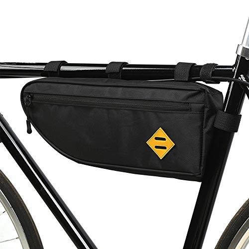 WangQianNan Bolsa para Cuadro de Bicicleta Triángulo de Bicicletas Bici del Bolso Impermeable del armazón Delantero del Bolso del Tubo de MTB Pannier Bolsa de Bolsa de Robusto y fácil de Limpiar.