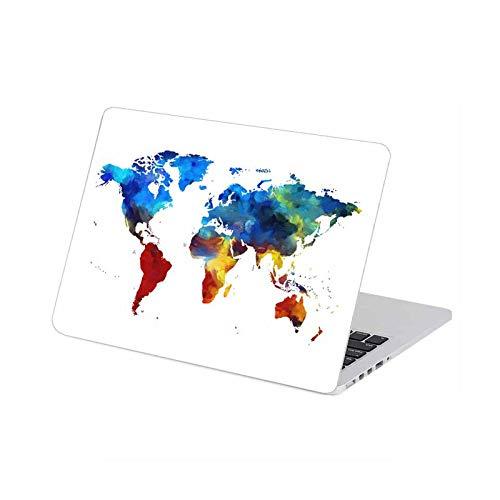 Mapa del mundo adhesivo protector para portátil MacBook Pro 16' Air Retina 11 12 13 15 pulgadas portátil cubierta completa diseño de piel 1-Air 11'