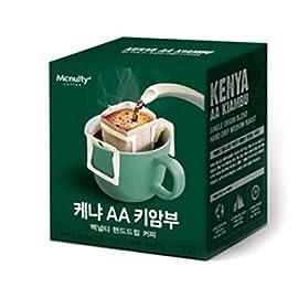 Mcnulty Kenya AA Single Origin Hand Drip Coffee (8g*7 Packs) 56g