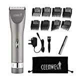 Ceenwes Updated Version Professional Hair Clippers Cordless Haircut Kit Rechargeable Hair Trimmer Haircut