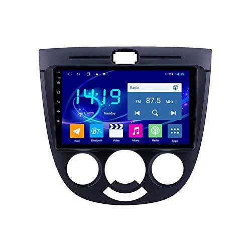 Coche Radio Video Estéreo para Buick Excelle HRV 2004-2013 Auto Multimedia Player SAT NAV FM AM Receptor 1080P HD Pantalla táctil Foreado GPS WiFi Bluetooth MirrorLink SWC USB,4 core 4g+wifi: 1+16gb