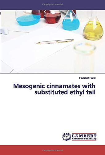 Mesogenic cinnamates with substituted ethyl tail