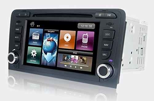 Dynavin DVN-A3 Multimedia Navigation N6 Plattform für Audi A3 (8P / 8PA) + Navigationssoftware
