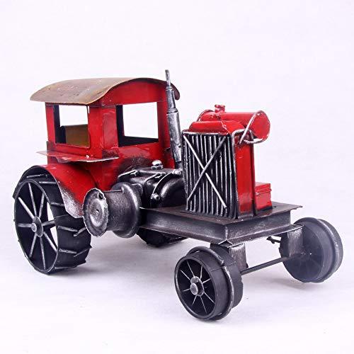 ERQINGX Modelo De Decoracion American Vintage Car Tractor Hierro Artesanías Carpa Artesanías De Hierro Forjado, Regalos Regalos Empresariales
