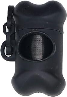 Apofly Crottes De Chien Sacs Distributeur Porte-Case Fournitures De Nettoyage pour Animaux en Plastique en Forme D'os avec...