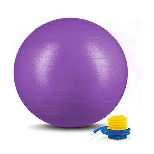 Mini balón deportivo de fisioterapia 65 cm, ejercicio de yoga, gimnasia, equilibrio...