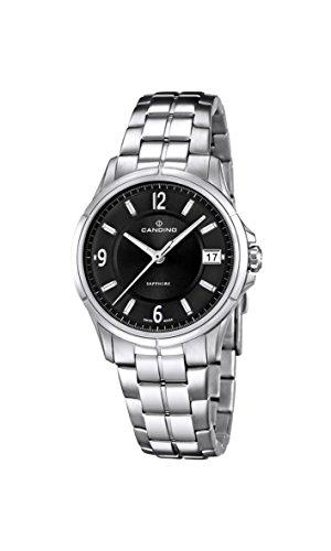 Candino Damen Analog Quarz Uhr mit Edelstahl Armband C4533/3