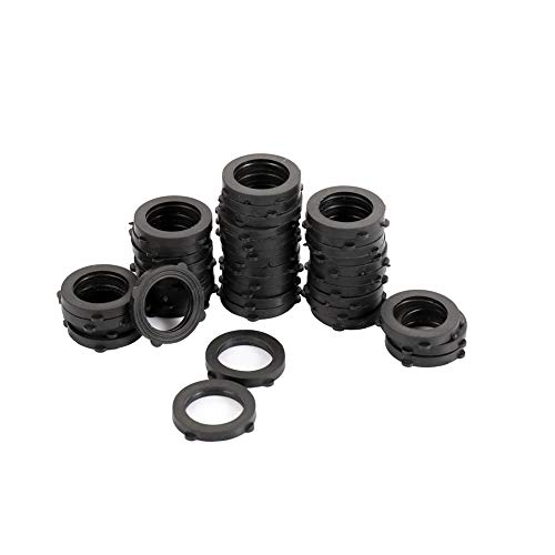ZKZX Garden Hose Washer Heavy Duty Rubber Washer, Fit All Standard 3/4