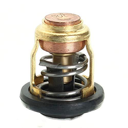 WSCHENG Ajuste del reemplazo del termostato Externo de 50 Grados para Yamaha FIT FOR para HO/NDA 6 Caballos de Fuerza a 40 Trazos de Caballos de Fuerza 2 (Color : Black Gold)