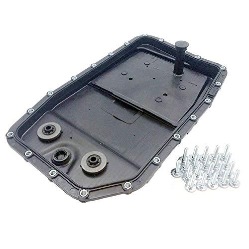 For V8 Engine Auto Transmission Oil Pan w Filter Gasket and Bolts for Jaguar OE Ref# LR007474