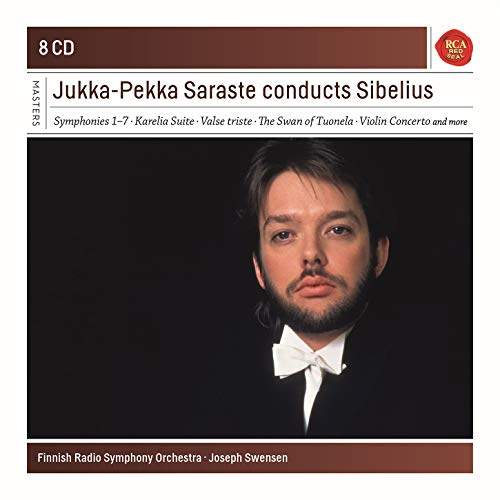 Jukka-Pekka Saraste Conducts Sibelius. Sony Classical Masters Series