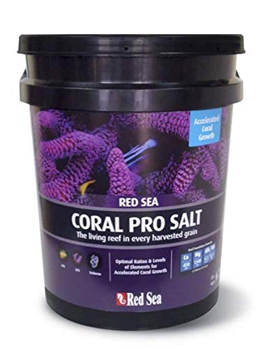 Red Sea Fish Pharm ARE11230 Coral Pro Marine Salt for Aquarium, 175-Gallon