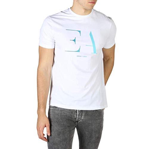 Emporio Armani t-Shirt Uomo Bianco Ottico L