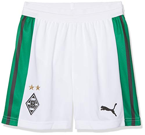 PUMA Kinder BMG Replica with innerslip Shorts, weiß, 140