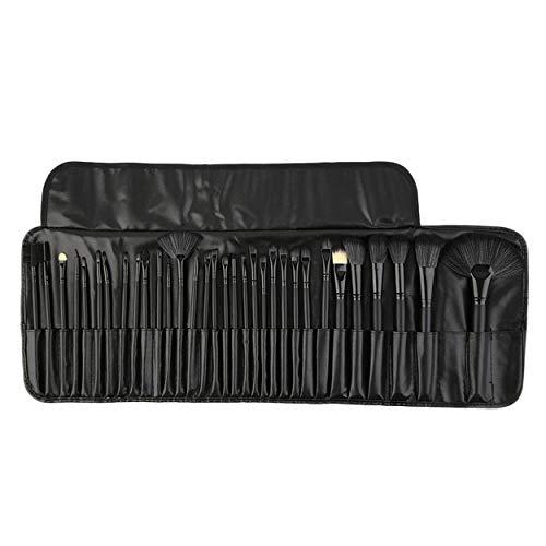 32pcs Professional Pinceaux Foundation Pack visage fard à joues brosse de maquillage outil de beauté en poudre Brosses avec sac cosmétique noir