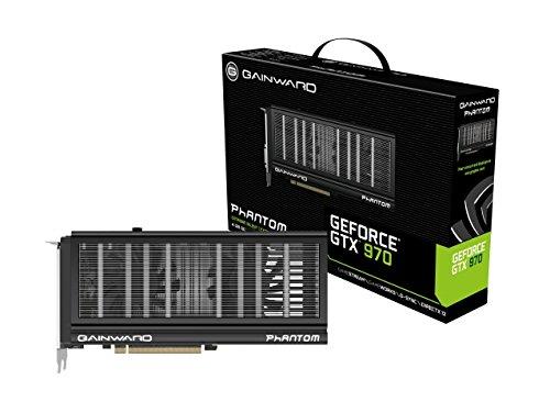 Gainward Nvidia GTX 970 Phantom Grafikkarte (PCI-e 4096, GDDR5, HDMI, DVI, Displayport 1 GPU)