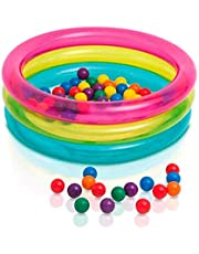 Intex Children's 3 Ring Inflatable Baby Ball Pit - 48674