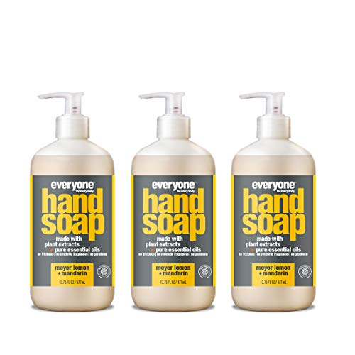 3-pack Everyone Hand Soap (12.75 fl. oz. Bottles)  $8.52 at Amazon