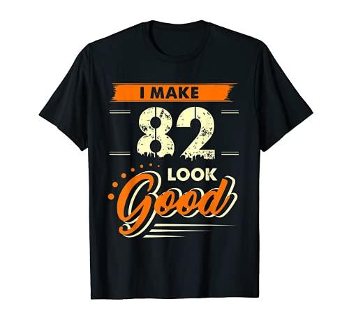 Camiseta con diseño de 82 años «I Make», divertido regalo de 82 años de cumpleaños Camiseta