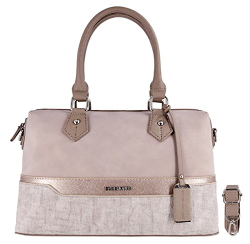 David Jones - Borsa a Mano Bowling Bauletto Donna - Borse a Tracolla...