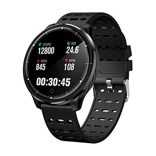 1.3 \Reloj Inteligente Redondo de Alta definición, Monitor de Fitness Ip68 Impermeable con Monitor de sueño Monitor de Ritmo cardíaco, Correr, Escalar y Escalar