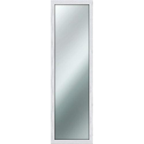 Lupia Mirror Shabby Chic Miroir Mural de 40x 125cm, Blanc