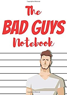 The bad guys notebook: the perfect journal for secret superheroes