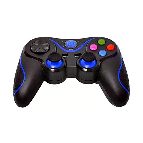 QueenHome Wireless Android Controller, Gamepad Game Controller Joystick Hand Travel Artifact for iPhone Android PS3 PC Laptop Gaming Control for Android Phone Bluetooth Handle