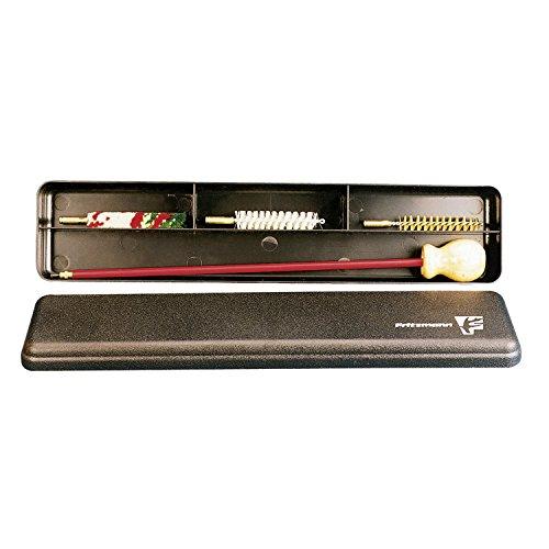 Fritzmann 4 teiliges Putzzeug für Kurzwaffen in Kunststoff-Box Waffen Reinigungsset Pistolenreinigungsset verschiedene Größen (Kal. 9mm/.38)