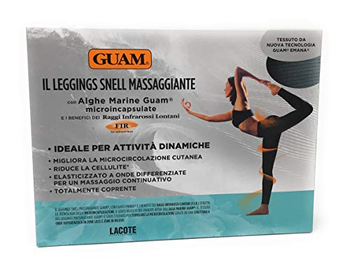 Guam Leggings Snell Massaggiante S - M (42-44), Nero
