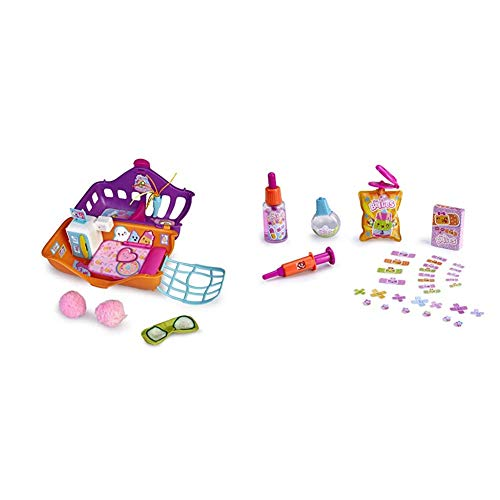 The Bellies - Bellies Resort SPA, Accesorio muñeco bebé para niños y niñas a Partir de 3 años (Famosa 700015538) + Bellies- Kit de Cuidados para muñecos bebé (Famosa 700014343)