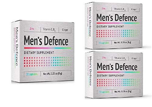 2+1 Men's Defence | Natural Prostate Support Capsules | Prostate Support Supplement