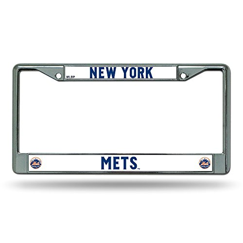 Rico Industries New York Mets License Plate Frame