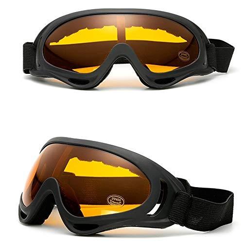 Yi-xir diseño Clasico Gafas Exteriores Montando Motocicletas Gafas Deportivas Equipo táctico del Ventilador a Prueba de Arena Moda (Color : 6)