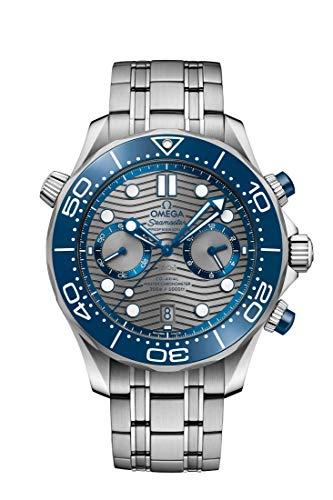 Omega Diver 300M Co‑Axial Master cronómetro cronógrafo 44mm reloj 210.30.44.51.06.001