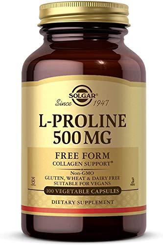 Solgar - L-Proline, 500 mg, 100 cápsulas vegetales