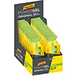 PowerBar PowerGel Original Green Apple 24x41g - High Carb Energie Gel + C2MAX, Magnesium und Natrium