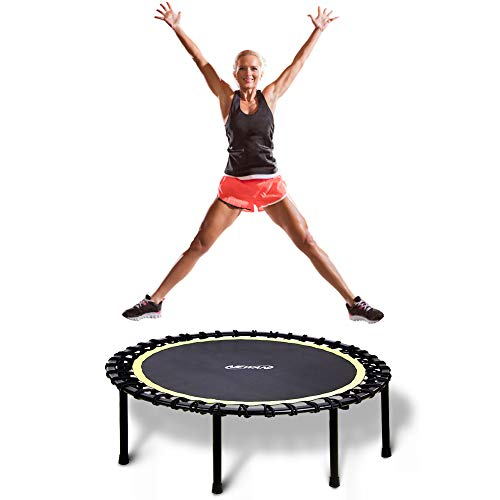 Newan 48' Silent Trampoline, Fitness Trampoline Bungee Rebounder Jumping Cardio...