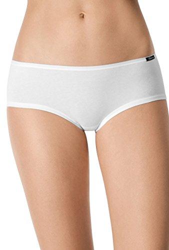 Skiny Damen Advantage Cotton Panty 2er Pack Panties, Schwarz (Black 7665), 40