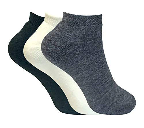 Sock Snob 3 paia donna corti caldo invernali termici calzini con pile (37-42 Eur, TTS MIX)