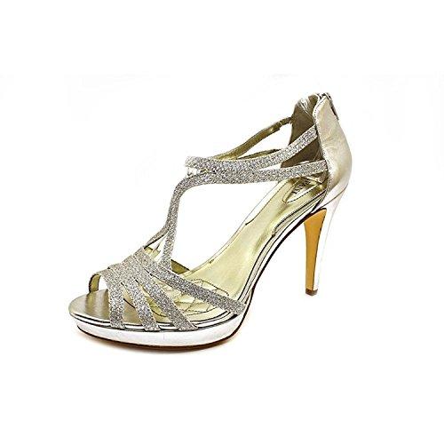 Alfani Tacy Pump Heel Sandals (8.5 B(M) US) Silver