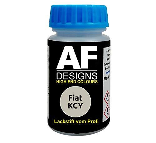 Lackstift für FIAT KCY Golden White Metallic schnelltrocknend Tupflack Autolack