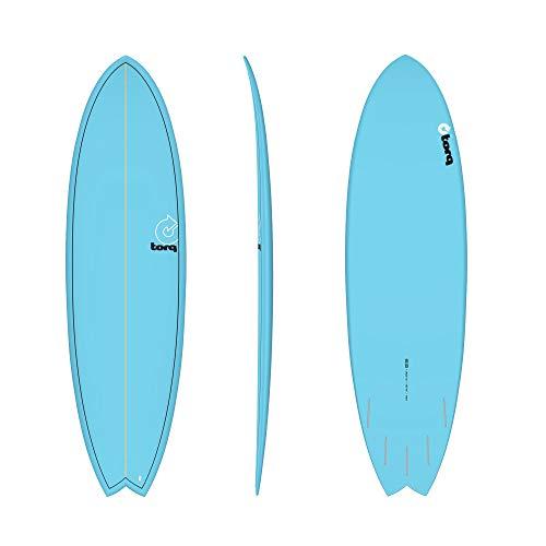 TORQ Tabla de surf Epoxy TET 6.3 Fish Blue