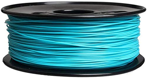 XHCP 3D Printer Filament PLA, Three-dimensional Printing Materials Light Blue 1.75mm Profession 1KG