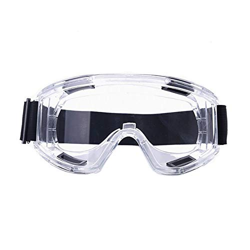Protective Safety Goggles Flexible, Soft, Indirect Vented Goggles Design- for Lab, Chemical, and Workplace Safety