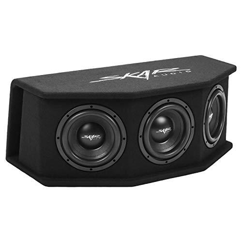 "Skar Audio SDR-3X8D2 Triple 8"" 2,100 Watt Loaded SDR Series Vented Subwoofer Enclosure, Triple 8"" D2 Loaded Enclosure"